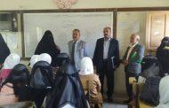 استمرارا لزياراته الميدانية شداد يزور مدرسة 7 يوليو ويطمئن على سير العملية التعليمية فيها