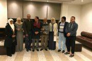 سفير اليمن لدى لبنان يزور فريق TEP بمقر إقامته ببيروت