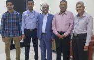 وفد  من وزارة التربية والتعليم والمؤسسة العامة لمطابع الكتاب المدرسي يغادر الى دبي