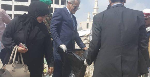 كلمة وزير التربية د.عبدالله لملس خلال حفل اليوم العالمي للبيئة بعدن