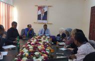 وزير التربية د. عبد الله لملس يلتقي المدير الإقليمي لليونسكو لإقرار الخطة الانتقالية للتعليم في اليمن