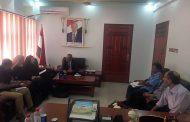 وزير التربية والتعليم د. عبدالله لملس يلتقي مدير المفوضية السامية لشؤون اللاجئين بعدن