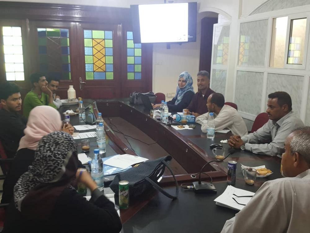 لجنة مشروع المدارس الآمنة الوزارية تناقش أهدف ومحاور الورشة التعريفية بعدن