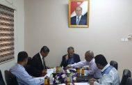 د. لملس يترأس اجتماع مجلس إدارة المؤسسة العامة لمطابع الكتاب المدرسي