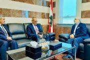 وزير التربية د.عبدالله لملس يبحث مع نظيره اللبناني تعزيز العلاقة بين البلدين في مجال التعليم والاستفادة من التجربة اللبنانية في مجال التغذية المدرسية