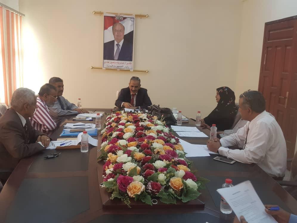 اجتماع لوزير التربية بمجلس وكلاء الوزارة يقف على برنامج الشراكة العالمية للتعليم