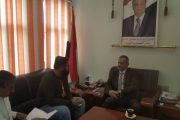 وزير التربية د. لملس يلتقي ممثل منظمة grz