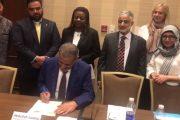 وزير التربية والتعليم الدكتور عبدالله سالم لملس يصدق على الخطة الانتقالية للتعليم مع نهاية اجتماع مجموعة التعليم المحلية(LEG-اليمن) في الأردن