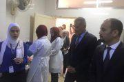 وزير التربية في الأردن يزور مطبخ إنتاج وجبات طلاب التعليم الابتدائي بمحافظة مادبا