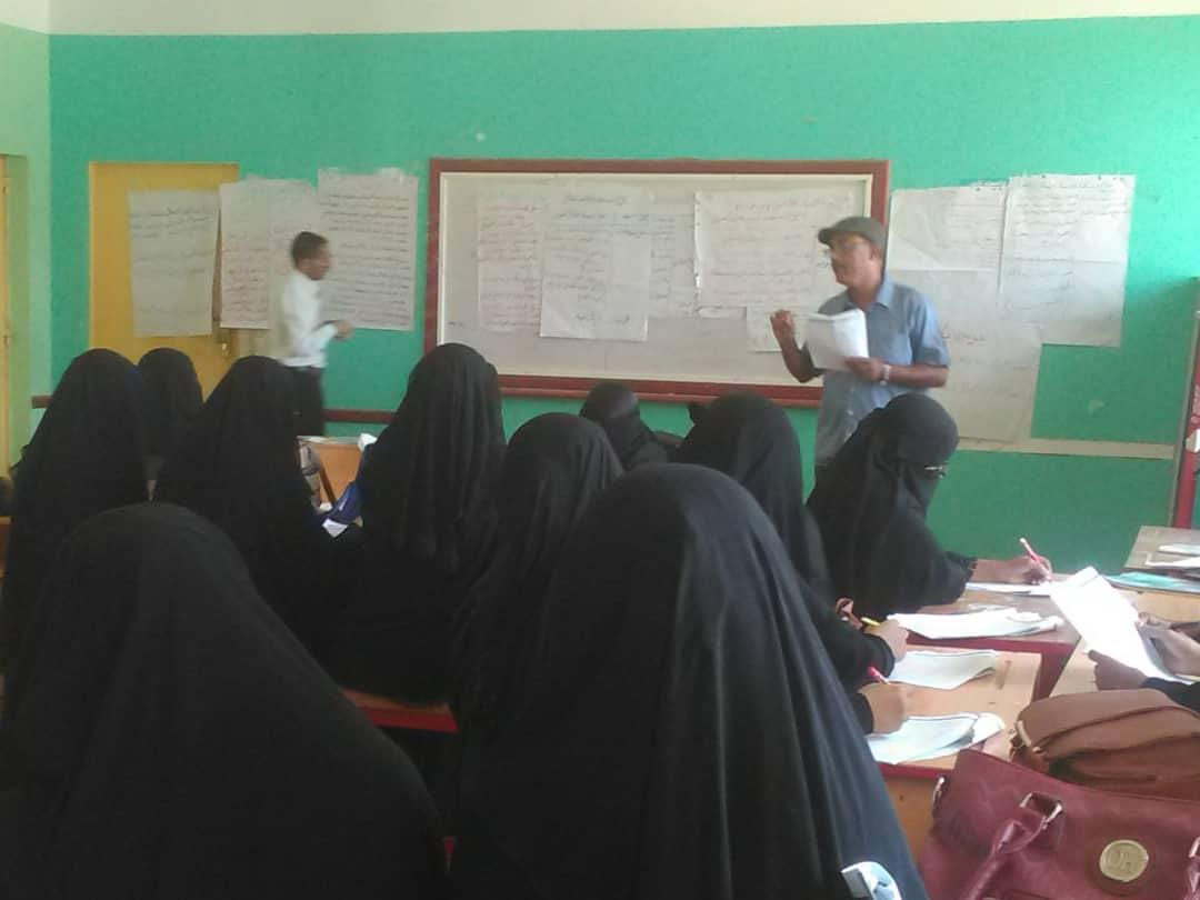 مكتب التربية والتعليم لحج ينظم ورش تدريبية في القياس والتقويم وإعداد الإختبارات