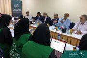 باسليم يناقش مع وفد البرنامج السعودي جملة من القضايا أبرزها بناء ٤ مدارس جديدة في عدن