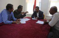 مدير عام مكتب التربية والتعليم بالجوف يعقد اجتماعاً بلجنة اعادة توزيع القوى العاملة