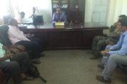 مدير التربية أبين يلتقي وفد مصلحة السجون بوزارة الداخلية