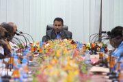 وكيل الوزارة – مدير تربية حضرموت يرأس اجتماعاً استثنائياً لقيادات العمل التربوي والتعليمي بالمحافظة والمديريات