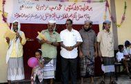 الدكتور الزعوري وقيادة السلطة المحلية يحضرون حفل تكريم أوائل مدرسة العطويين بطورالباحه