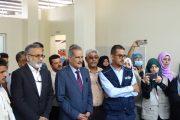 وزير التربية د. عبد الله لملس يدشن المطبخ الصحي المدرسي بعدن