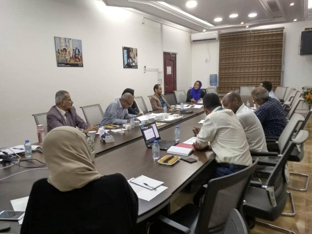 وزارة التربية والتعليم بعدن تلتقي بالمنظمات المانحة لمناقشة خطة التعليم البديل في الطوارئ لمواجهة فيروس كورونا