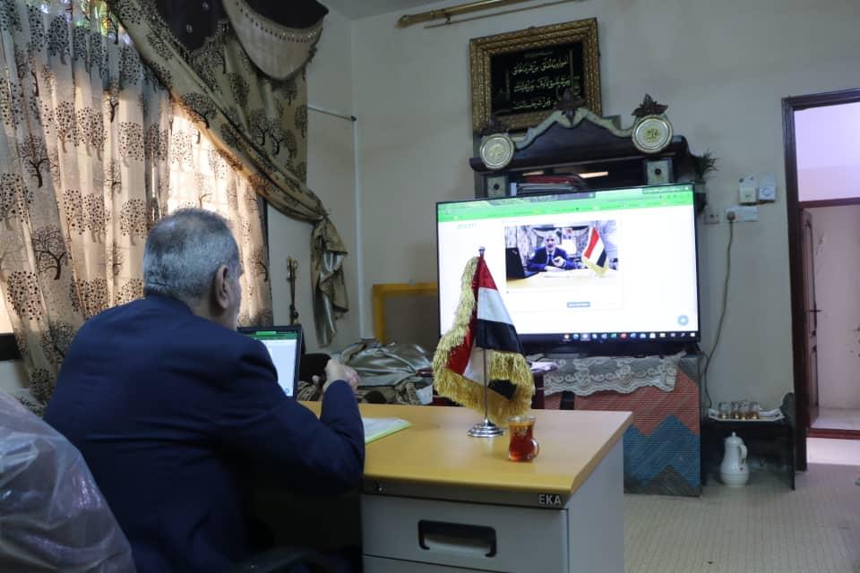 وزير التربية د. لملس يشارك في الاجتماع الوزاري الإقليمي حول العودة إلى المدارس وضمان استمرارية التعليم خلال العام الدراسي الجديد 2020-2021