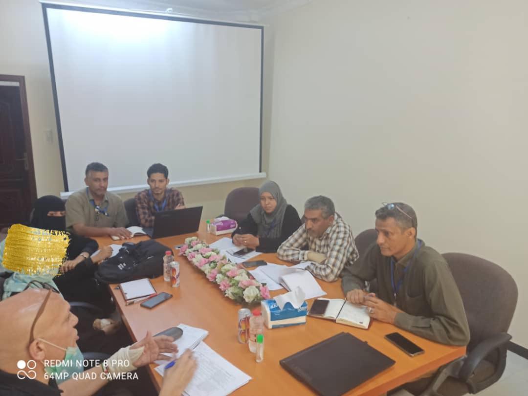 رئيس قسم التعليم بمنظمة اليونيسيف يزور مكتب وحدة إدارة البرامج