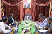 الوزير العكبري يناقش احتياجات قطاع التعليم بالوزارة