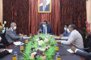وزير التربية يبحث مع برنامج الأغذية العالمي تدخلاتهم في التعليم