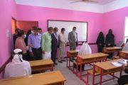 وزير التربية يتفقد ويفتتح عدد من المشاريع التربوية والتعليمية في غيل باوزير والشحر