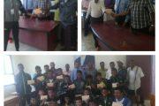 برعاية ودعم محافظ أبين مكتبي التربية والشباب يكرمو المنتخب المدرسي أبين