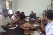 مدير عام مكتب التربية والتعليم محافظة لحج يرأس اول إجتماع للجنة الفرعية للاختبارات