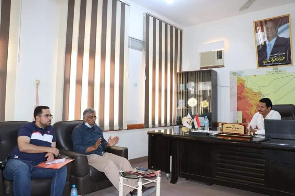 نائب وزير التربية د. العباب يلتقي بمنظمة اليونيسف