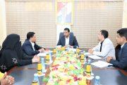 وزير التربية يناقش مشاريع وبرامج ائتلاف الخير للإغاثة الإنسانية في القطاع التعليمي